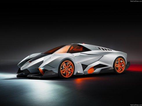 Lamborghini Egoista Concept - Front 3/4