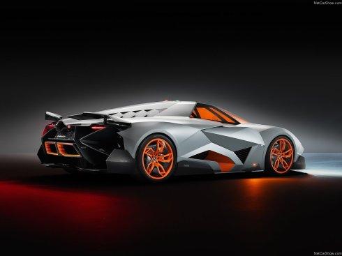 Lamborghini Egoista Concept - Rear 3/4