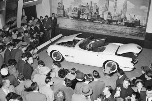 1953 Chevrolet Corvette First Auto Show Appearance