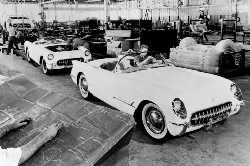 1953 Chevrolet Corvette - Rolling off of the Production line