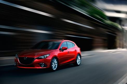 2014 Mazda 3 - Front 3/4