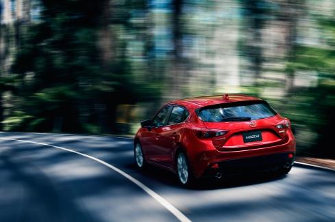 2014 Mazda 3 - Rear 3/4
