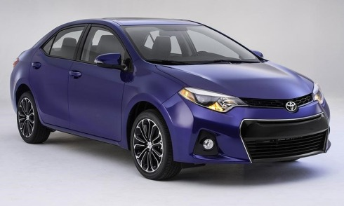 2014 Toyota Corolla - Front 3/4