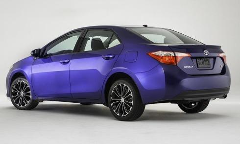 2014 Toyota Corolla - Rear 3/4