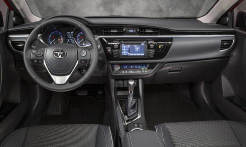 2014 Toyota Corolla - Dashboard Layout